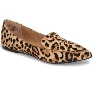 Steve Madden Featherlw Leopard Loafers